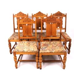 Angelus Furniture Chair Set from the Voss Inn