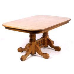 Quarter Sawn White Oak Dining Room Table