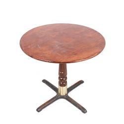 Mahogany Traditional Round Parlor Table
