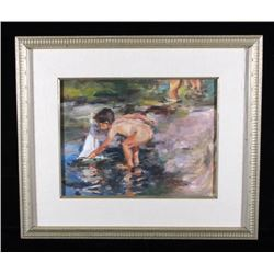 Terry Mimnaugh Signed Original Oil Painting