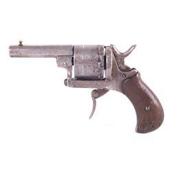 German Folding Trigger .32 Cal Revolver