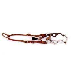 Early Schutz Brothers Silver Show Bridle & Bit