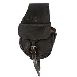 Al Furstnow Montana Leather Western Saddlebags