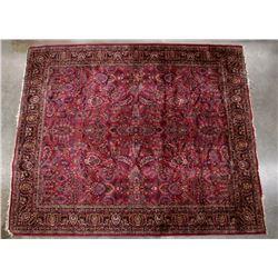 Silk Wool Blend Persian Rug Circa 1920-1930