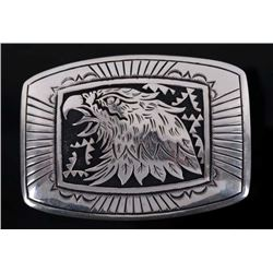 Thomas Singer Sterling Silver Belt Buckle