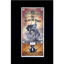 Deadwood South Dakota Rodeo Poster - Wild & Woolly