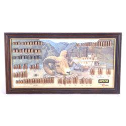 Speer Bullet Advertising Display
