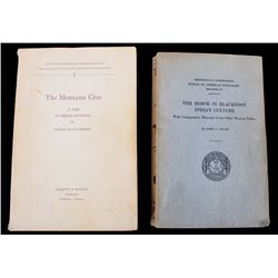 Historic Native American Studies Book Collection