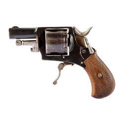 German Folding Trigger Revolver