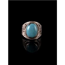 Navajo Sleeping Beauty Turquoise Ring