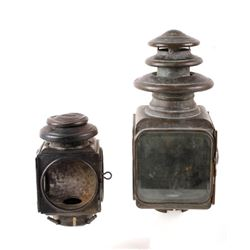 Antique Early Automobile Lanterns