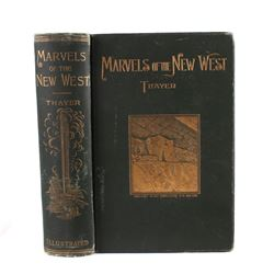 Marvels of the New West by Thayer 1887