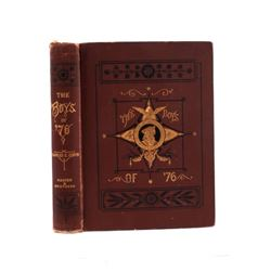 The Boys of '76 by Charles Coffin c. 1876 1st Ed.