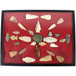 Native American Pre-Historic Arrow Head Artifacts