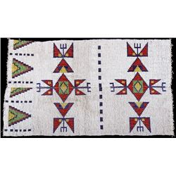 Sioux Multi Colored Beaded Loom Piece c. 1800's