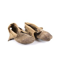 19th Century Apache Warrior Moccasins