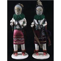 Hopi Cottonwood Kachina Dolls c. 1950s - 1960s