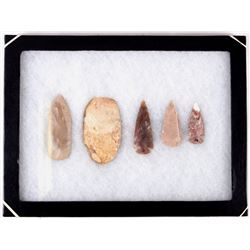 Native American Buffalo Skinner and Spear Points