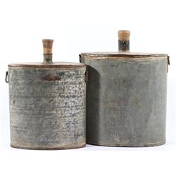 Civil War Era Metal Water Canteens