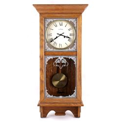 Antique Cornwall Oak Wall Clock