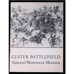 Custer Battlefield National Monument Guide c. 1941