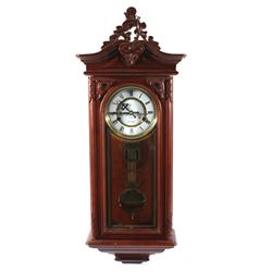 20th Century Victorian Style 31 Day Wall Clock