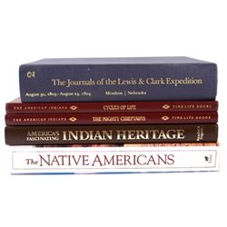 Collection of Native American Books