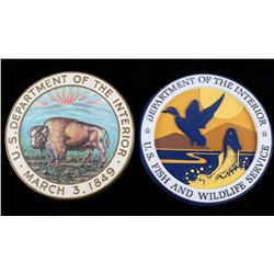 US Department of the Interior Seal/ Plaques (2)