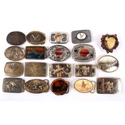 Collection of Western Belt Buckles