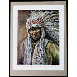 Koostahtah - Kootenai Chief By Jeanne Hamilton