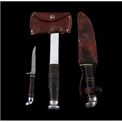 Western and Kinfolk Knives and Hatchet