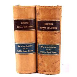 Roster & Record of Iowa Soldiers Volume II & III
