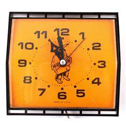 Mid 20th Century Native American Wall Clock