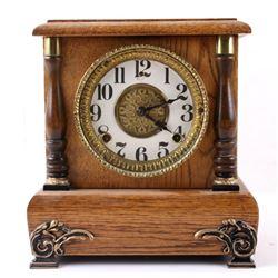Gilbert Clock Co Mantle Clock c. 1912