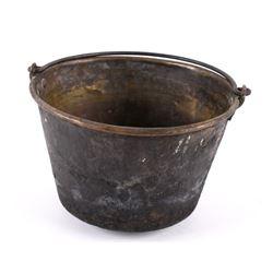 Early 19th Century Brass Water Bucket