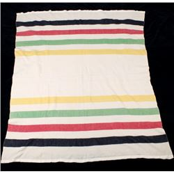 Traditional Striped Wool Trade Blanket