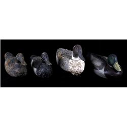 Hand Carved Vintage Duck Decoys (4)
