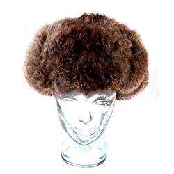 Genuine Rabbit Fur Trapper Hat