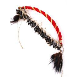 Sioux Native American Dancer Buffalo Rib