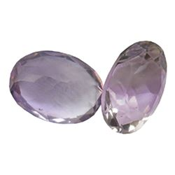 19.79 ctw Oval Mixed Amethyst Parcel