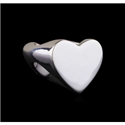 Classic Sterling Silver Heart Ring