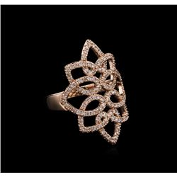 0.65 ctw Diamond Ring - 14KT Rose Gold
