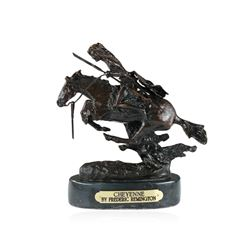 Cheyenne Bronze Replica By Frederic Remington