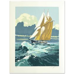 Gloucester Fisherman by Harry Schaare (d. 2008)