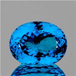 NATURAL SWISS BLUE TOPAZ 99.55 Carats - FL