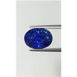 Natural Stunning Kashmir Sapphire - Certified