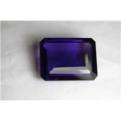 Natural Purple Violet Purple Octagon Amethyst 211 Cts.