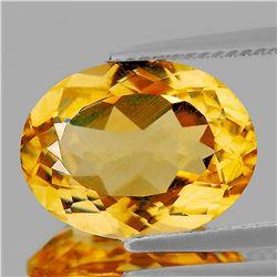 Natural Golden Yellow Citrine {Flawless-VVS1}