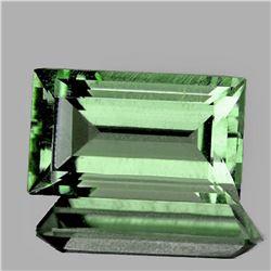 NATURAL Light GREEN AMETHYST 12.5x7 MM - FL