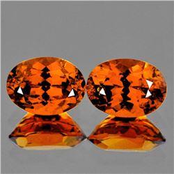 Natural Mandarin Orange Spessartite Garnet 7x5 MM - VVS